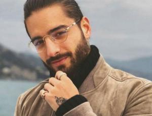 """Foto del """"harén"""" de Maluma en la polémica por errores de Photoshop"""