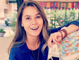 Marita García presentó a su hermana clon