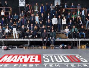 Marvel Studios celebra su décimo cumpleaños con fotografía que reúne a sus máximas figuras