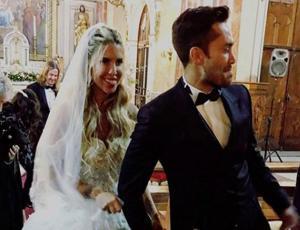 Así fue la salida de Cote López y el Mago Jiménez como marido y mujer