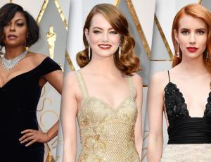 Los mejores looks en la alfombra roja de los Oscars 2017