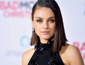 Mila Kunis y una buena idea de usar el traje de moda