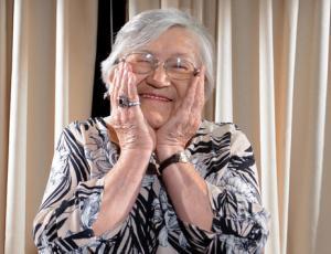 La abuelita Eliana se la juega por la Corona Guachaca