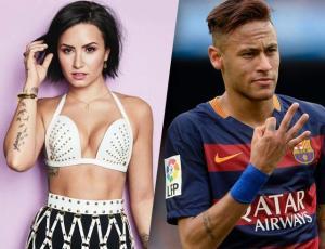 Vinculan amorosamente a Demi Lovato y Neymar ¡y hay pruebas!