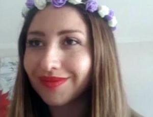 El colapso de Nicole Moreno en transmisión Live de Instagram