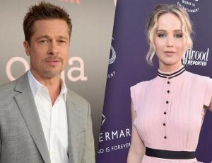 Aseguran que Jennifer Lawrence y Brad Pitt están saliendo