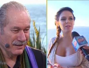 """Los bellos mensajes que Pedro Engel y Carola Varleta se enviaron en """"La Movida"""""""