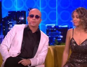 Stefan Kramer sorprendió a Don Francisco con una gran imitación de Pitbull