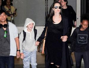 Angelina Jolie fue cuestionada durante 4 horas por supuestos abusos de Brad Pitt