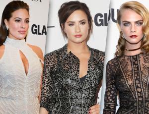 """Brillos y transparencias se tomaron la gala de """"Glamour"""""""