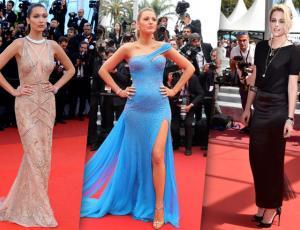 Los vestidos más destacados que desfilaron por Cannes