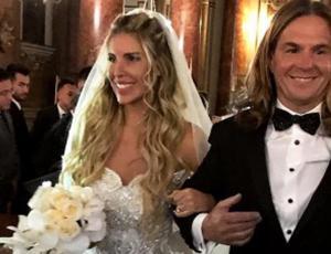Las primeras imágenes de Cote López vestida de novia