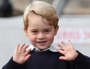Fotos del Príncipe George en su primer día de clases vieron la luz