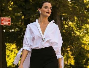 Renata Ruiz y Olivia Palermo fueron sorprendidas usando la misma blusa