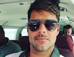 Ricky Martin compartió con sus fans chilenas