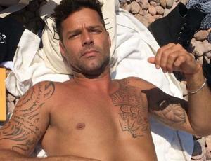 Ricky Martin disfruta del vino chileno