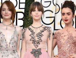 El rosado se tomó la alfombra roja de los Golden Globes