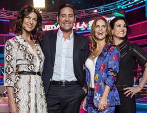 """Esta noche en el estreno de """"La rueda de la suerte"""" tres famosos competirán por ser los primeros ganadores"""