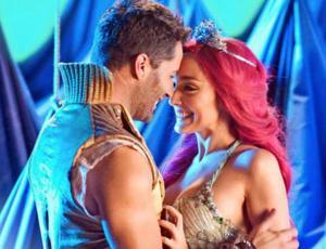 """Fran Walker y Cristián Arriagada ensayan a los besos para el musical de """"La Sirenita"""""""