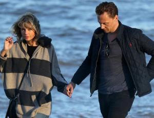 Taylor Swift fue a Inglaterra a conocer a la mamá de su novio