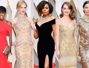 Las tendencias que se tomaron la alfombra roja de los Oscar 2017