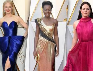 Las tendencias que desfilaron por la alfombra roja de los Oscar 2018