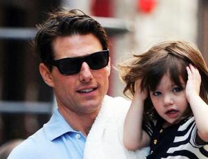 Tom Cruise no ve a su hija Suri hace tres años
