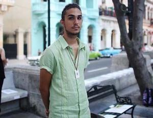 Nieto de Fidel Castro fue fichado por Chanel