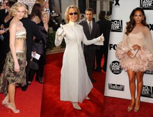 Los vestidos más extraños que han pasado por la alfombra roja de los Golden Globes