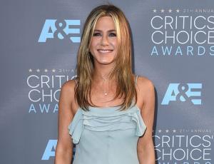 El fatal  descuido de Jennifer Aniston