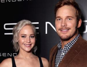 La divertida reacción de Jennifer Lawrence al escuchar a Chris Pratt hablar alemán