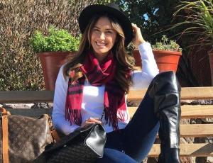 Vanesa Borghi sorprende con fotos de su adolescencia