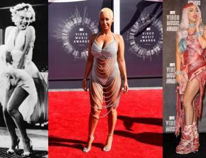 ¡Los vestidos más escandalosos de la historia!