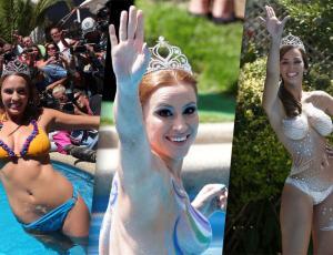 Revive los piscinazos de las últimas 9 Reinas de Viña