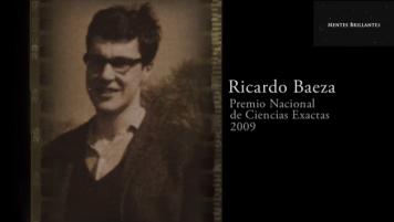 27 Marzo 2016: Ricardo Baeza, Premio Nacional de Ciencias Exactas 2009