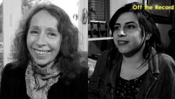 28 Mayo 2017: Isabel Aldunate y Claudia Huaiquimilla