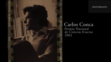 03 Abril 2016: Carlos Conca, Premio Nacional de Ciencias Exactas 2000