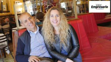 10 Septiembre 2016: Claudio Soto y Patrizia Misseronni, Confitería Torres