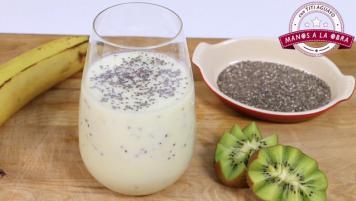 Smoothie de yogurt y frutas