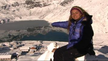 Glaciar Ngozumpa y Cho La Pass
