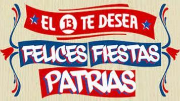 """""""Fiestas Patrias en el 13"""""""