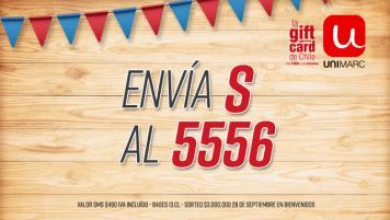 Gana ¡un asaito! con Unimarc y 3 millones en el mes de la patria