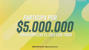 Promo fin de año 2018 - Envía 13 al 5556 y participa por $5.000.000 y cursos TOPCLASS.CL!