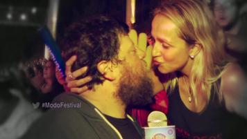 ¡Rodrigo estuvo en la primera noche del Festival!