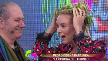 """Pedro Engel diseña una """"Corona del Triunfo"""" para Kika"""