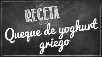 Queque de Yoghurt Griego