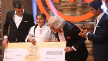 "Emilia es la ""Junior MasterChef"""