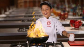 Simón recuerda su plato favorito en el programa