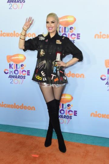 Gwen Stefani fiel a su estilo.