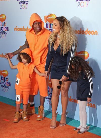 Mariah Carey y su familia.